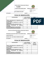 Ficha Observacion