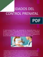 Cuidados Delcontrol Prenatal