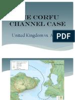 Corfu Channel Case. Powerpoint