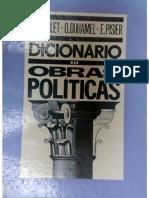 Châtelet Duhmel Pisier - Dicionário Das Obras Políticas
