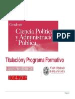 Ciencia Politica y a Publica 2014-20155