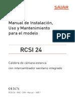 34548300 Manual Caldera Saiar RCSI 24