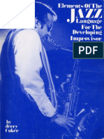 Jerry Coker - Elements Of The Jazz Language For The Developing Improvisor.pdf