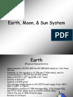 earth moon   sun system  1