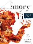 The Memory of Fire by Callie Bates - 50 Page Friday