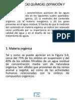 Caracteristicas de Aguas Residuales (Quimicas y Biologicas)