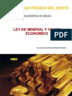 6 Ley Mineral Valor Econmico