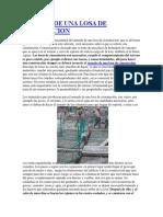 PROCESO CONST. ARMADO DE UNA LOSA DE CIMENTACION.docx