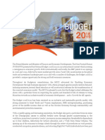 MCCI Budget Insights 2018 2019