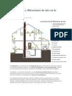02 Aislamiento y Filtraciones de Aire en La Vivienda