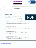 Statistics Assignment Sample 2 with Solutions