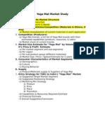 Yoga Mat Market Study Guideline_0826