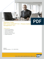 SAP Access Control™ 10.1 _ Process Control™ 10.1 _ Risk Management™ 10