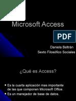 Microsoft Access Danni