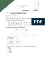 Trabajo de Matemática raices