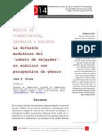 Icono14. A8/ESP. Medios de comunicación, anorexia y bulimia. La difusión mediática del 'anhelo de delgadez'