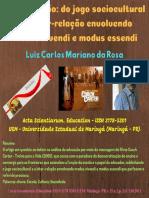 Acta Scientiarum (Da educação