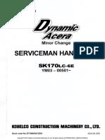 Sk170lc-6e Minor Change Service Handbook