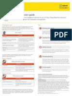 FreeStyle Libre - Sensor Adhesion Guide