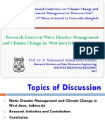 1. Research Issues on Water Disaster Management and CC_M. Syahril B. Kusuma