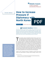 How to Increase Pressure if Diplomacy with North Korea Fails