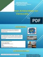 Problemas Ambientales en Venezuela