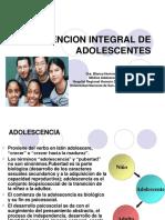 Atencion Integral de Adolescentes