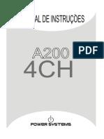 Manual a200