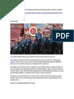 Esfiles en Toda Rusia Celebran 72 Aniversario Del Día de La Victoria Sobre El Nazismo