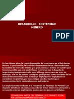 Clase 9. Desarrollo Sostenible Minero