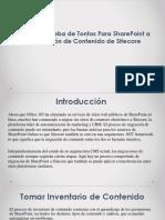 Un Plan a Prueba de Tontos Para SharePoint a la Migración de Contenido de Sitecore