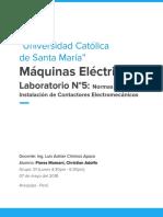 Informe 5 Máquinas Eléctricas