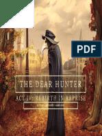 The Dear Hunter ''A Night on the Town'' Keyboard transcription by Daniel Ofosu