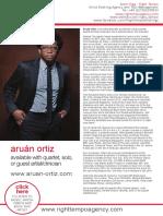 Aruán Ortiz One Sheet RT