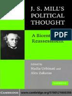 Nadia Urbinati, Alex Zakaras - J.S. Mill's Political Thought_ a Bicentennial Reassessment (2007)