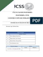 Encofrados Informe Final
