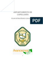 Plan estratégico capellanía