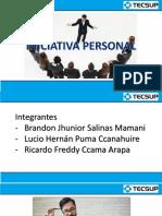 Tutoria - Iniciativa Personal