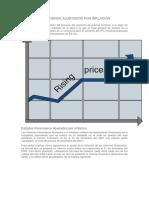 Estados Financieros Ajustados Por Inflación