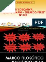 Ley 070 Avelino Siñani-Elizardo Pérez