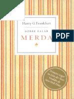 Sobre Falar Merda - Harry G. Frankfurt.pdf