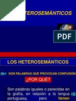 2. HETEROSEMÁNTICOS