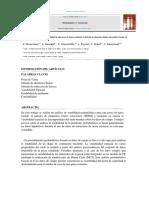Análisis Probabilístico de La Estabilidad de Una Presa de Tierra Mediante El Método de Elementos Finitos Estocástico Basado en Datos de Campo.
