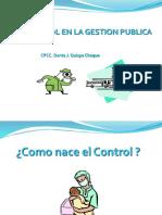 Marco Mandato Control Gubernamental 2017