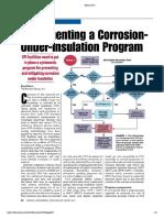Corrosion Mitigating Under Insulation