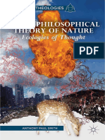 A Non Philosophical Theory of Nature - Ecologies of Thought