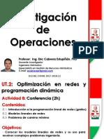 Optimizacion en redes y programacion dinamica