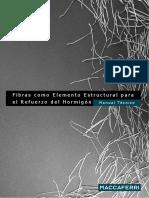 MANUAL DE FIBRAS COMO ELEMENTO ESTRUCTURAL PARA EL REFUERZO DE HORMIGON.pdf