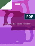 FOCILLON Henri Elogio da mão.pdf