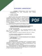 DETERMINAREA UNOR CARACTERISTICI FUNCTIONALE ALE UNEI TRANSMISII PRIN CURELE TRAPEZOIDALE